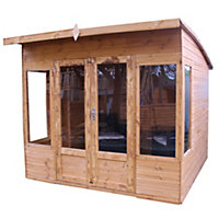 Mercia Premium Helios Wooden Summer House - 8ft 2in x 9ft 7in