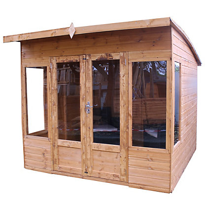 Image for Mercia Premium Helios Wooden Summer House - 8ft 2in x 9ft 7in from StoreName