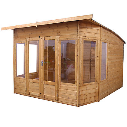Image for Mercia Premium Helios Wooden Summer House - 9ft 11in x11ft 4in from StoreName