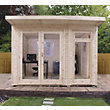 Mercia Insulated Garden Room - 10ft 5in x 11ft 8in (With Installation)