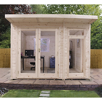 Image for Mercia Insulated Garden Room - 10ft 5in x 11ft 8in (With Installation) from StoreName