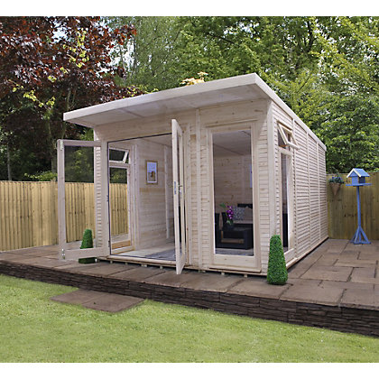 Image for Mercia Insulated Garden Room - 10ft 5in x 15ft (With Installation) from StoreName