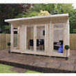 Mercia Insulated Garden Room - 13ft 9in x 11ft 8in (With Installation)