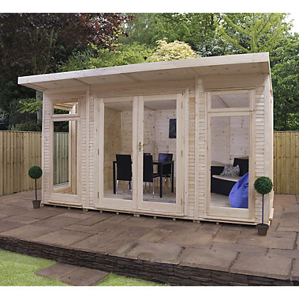 Image for Mercia Insulated Garden Room - 13ft 9in x 11ft 8in (With Installation) from StoreName