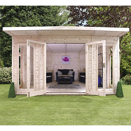 Image for Mercia Insulated Garden Room - 13ft 9in x 15ft (With Installation) from StoreName