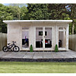 Mercia Insulated Garden Room - 17 x 11ft 8in (With Installation)