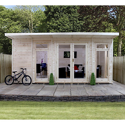 Image for Mercia Insulated Garden Room - 17 x 11ft 8in (With Installation) from StoreName