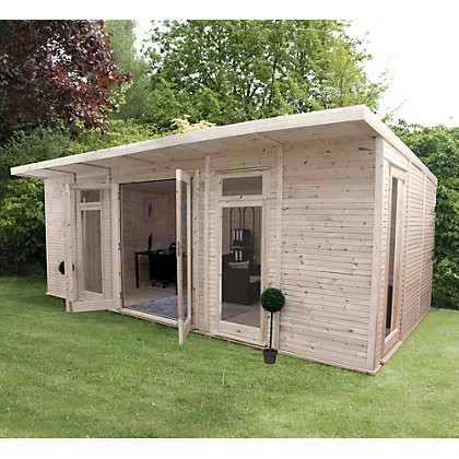 Image for Mercia Insulated Garden Room - 20ft 3in x 11ft 8in (With Installation) from StoreName