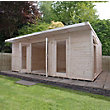Mercia Insulated Garden Room - 20ft 3in x 15ft (With Installation)