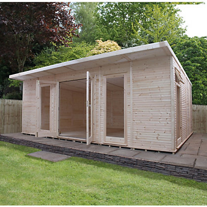 Image for Mercia Insulated Garden Room - 20ft 3in x 15ft (With Installation) from StoreName