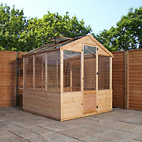 Mercia Wooden Greenhouse - 6x6ft
