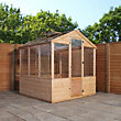 Mercia Wooden Greenhouse - 8x6ft