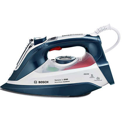 Image for Bosch Anti-Shine Steam Iron - 2800W - Blue from StoreName