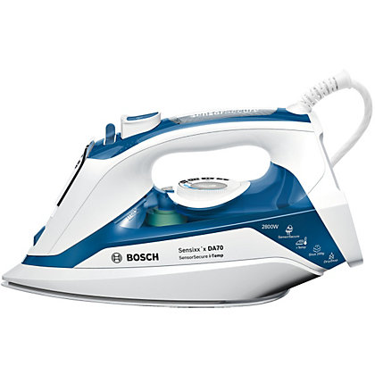 Image for Bosch TDA7060GB i-Temp Steam Iron - Blue from StoreName