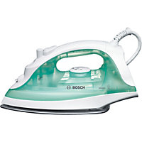 Bosch TDA2301GB 2100W Steam Iron - White And Green