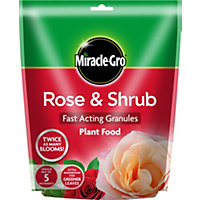Miracle-Gro Rose and Shrub Fast Acting Plant Food Granules
