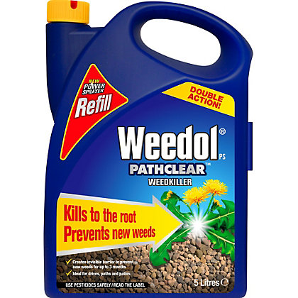 Image for Weedol Gun! Pathclear Ready To Use Weedkiller Refill - 5L from StoreName