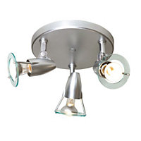Sante Spotlight 3 Bar Plate Chrome Spotlight