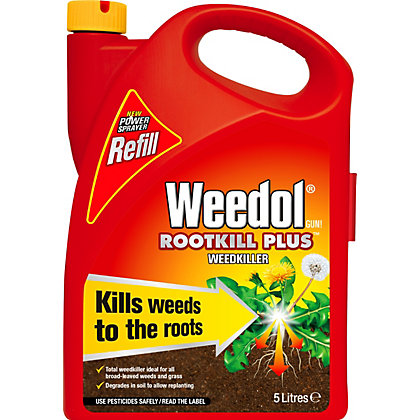 Image for Weedol Gun! Rootkill Plus Ready To Use Weedkiller Refill - 5L from StoreName