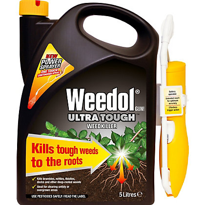 Image for Weedol Gun! Ultra Tough Ready To Use Weedkiller Power Sprayer - 5L from StoreName