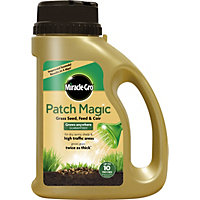 Miracle-Gro Patch Magic Grass Seed, Feed, & Coir