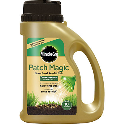 Image for Miracle-Gro Patch Magic Grass Seed, Feed, & Coir from StoreName