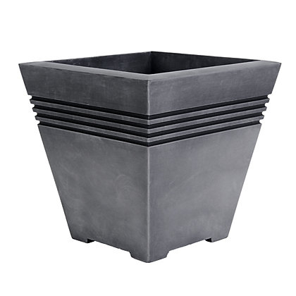 Image for Milano Plastic Planter - 33cm from StoreName