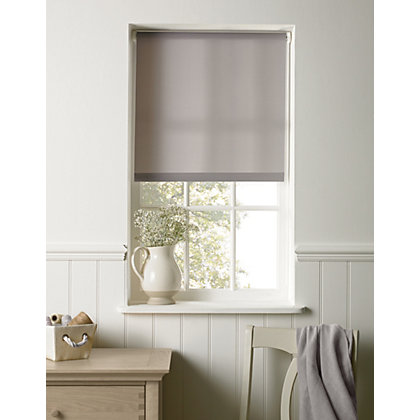 Image for Homebase Grey Roller Blind - 90cm from StoreName
