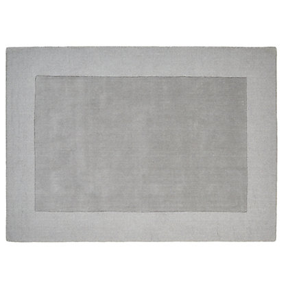 Image for Schreiber Hampton Dove Grey Handmade Rug - 170 x 120cm from StoreName