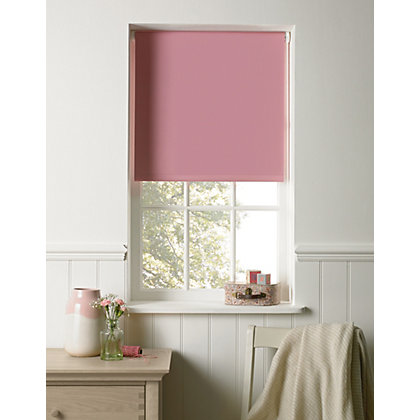 Image for Light Pink Blackout Blind - 90cm from StoreName