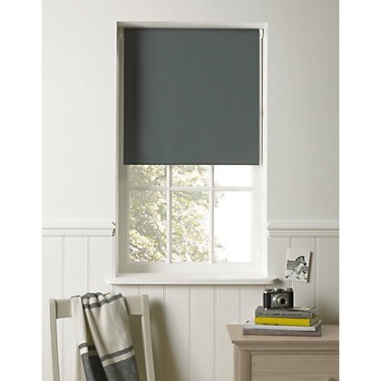 Image for Charcoal Blackout Blind - 90cm from StoreName
