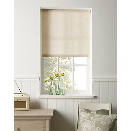 Image for Linen Look Roller Blind 90cm from StoreName