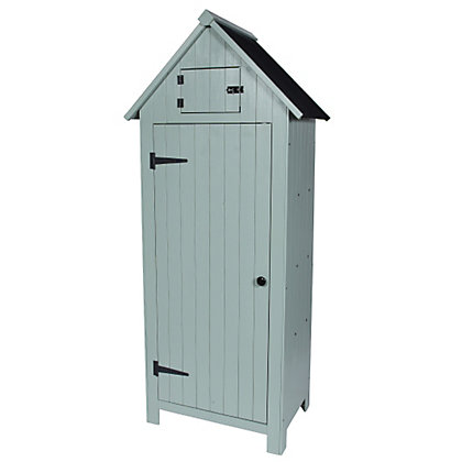 Image for Sentry Garden Store Shed - Putty Grey from StoreName