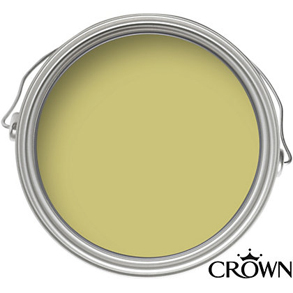 Image for Crown Breatheasy Gentle Olive - Matt Standard Emulsion Paint - 40ml Tester from StoreName