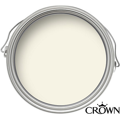 Image for Crown Breatheasy Serene White - Matt Standard Emulsion Paint - 40ml Tester from StoreName