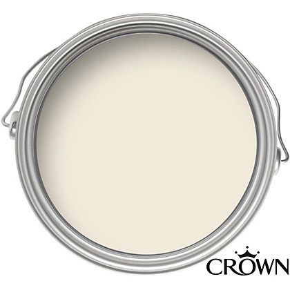 Image for Crown Breatheasy Summer White - Matt Standard Emulsion Paint - 40ml Tester from StoreName