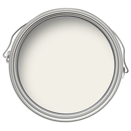 Image for Crown Breatheasy Canvas White - Matt Standard Emulsion Paint - 2.5L from StoreName