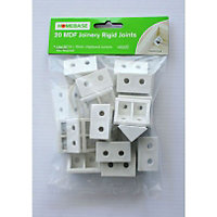 MDF Joinery Rigid Joints - 20 Pack