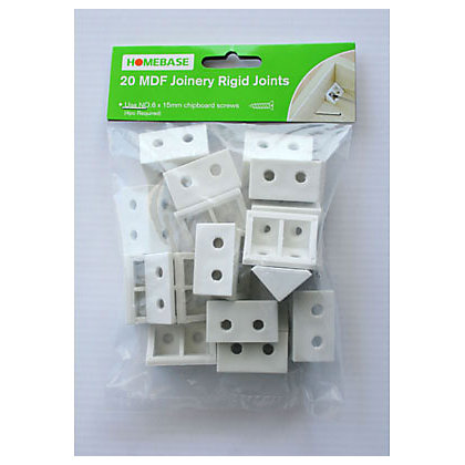 Image for MDF Joinery Rigid Joints - 20 Pack from StoreName