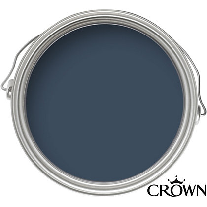 Image for Crown Feature Wall Breatheasy Midnight Navy - Matt Paint - 40ml Tester from StoreName