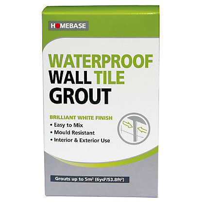 Image for Homebase Powder Wall Grout – 1kg from StoreName