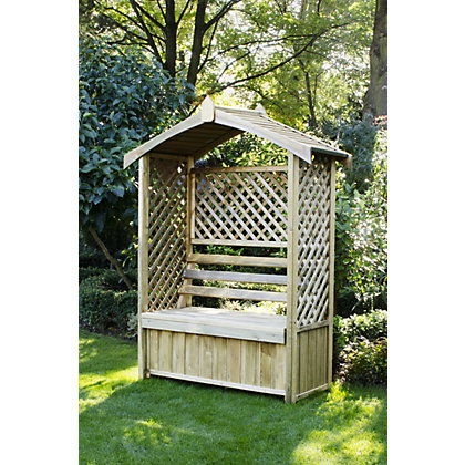 Image for Forest Arbour with Storage Box from StoreName