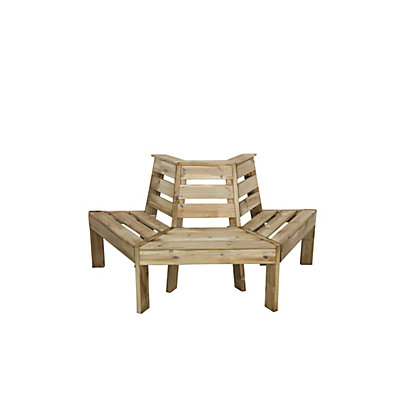 Image for Forest Wooden Tree Seat from StoreName