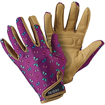 Image for Briers Professionelle Purple Butterfly Gardening Gloves from StoreName