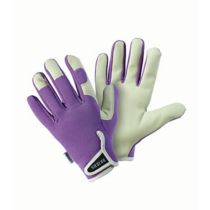 Image for Briers Lady Gardener Lavender Medium Gardening Gloves from StoreName