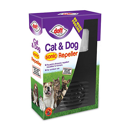 Image for Doff Battery Operated Sonic Cat & Dog Repeller from StoreName