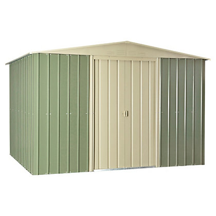 Image for Store More Lotus Apex Steel Shed - 10x12ft from StoreName