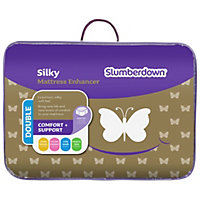 Slumberdown Silky Mattress Enhancer - Double.