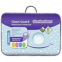 Slumberdown Clean Guard Mattress Protector - Double.
