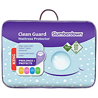 Slumberdown Clean Guard Mattress Protector - Kingsize.